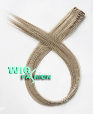 NEW-Long-Straight-Hair-Clip-On-Hair-Extension