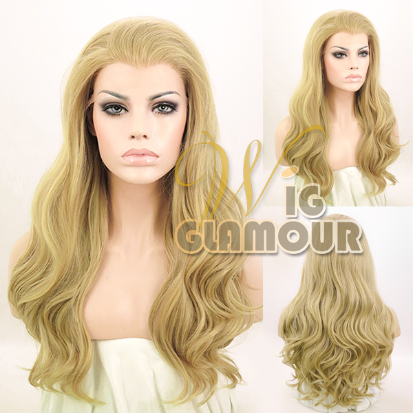 24-Long-Curly-Wavy-Blonde-Brown-Red-Pink-Blue-Lace-Front-Synthetic-Wig